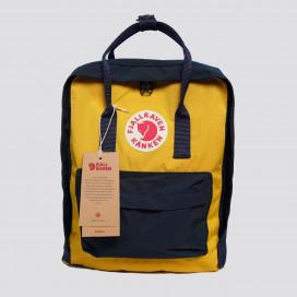 Kanken Classic (Navy/Warm Yellow)