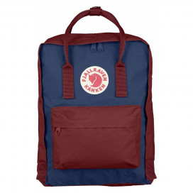 Kanken Classic  (Royal Blue/Ox Red)