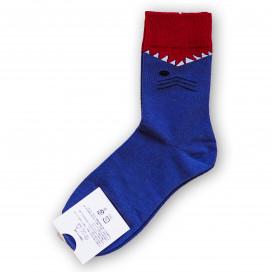 Носки с принтом акулы