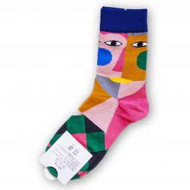 Носки с прикольным лицом