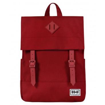8848 / Рюкзак Пятачок на крышке (Красный)