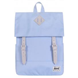 8848 / Рюкзак Пятачок на крышке (Голубой)
