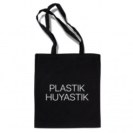 "Сумка-шоппер ""PLASTIK HUYASTIK""- mages.by"
